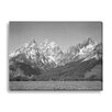 Gallery Direct 'Grand Teton' by Ansel Adams Photographic Print on Wrapped Canvas