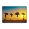 Gallery Direct Coastal 'Palm Trees' by Vvvita Photographic Print on Wrapped Canvas