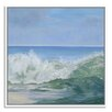 Gallery Direct Sea Thunder by Casey Chalem Anderson Framed Painting Print on Canvas
