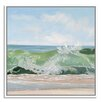 Gallery Direct Green Glass by Casey Chalem Anderson Framed Painting Print on Canvas