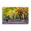 Gallery Direct Beach and Nautical Autumn in Central Park by Maxine Price Painting Print on Canvas