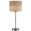 """Lite Source Relaxxar 20"""" H Table Lamp with Drum Shade"""
