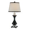 """Lite Source Walta 34"""" H Table Lamp with Empire Shade"""