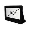 """Loch Matte White 140"""" diagonal Portable Projection Screen"""