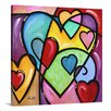 Great Big Canvas 'A Lot of Heart III' by Eric Waugh Graphic Art on Canvas