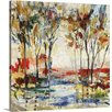 Great Big Canvas Red Cliff Grove by Jodi Maas Painting on Wrapped Canvas