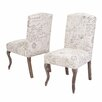 Home Loft Concepts French Parsons Chair (Set of 2)