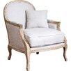 Home Loft Concepts MacArthur Weathered Oak Arm Chair
