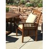 Home Loft Concepts Dining Arm Chair with Cushions (Set of 2)