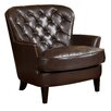 Three Posts Tufted Upholstered Club chair