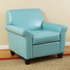 Home Loft Concepts Yonkers KD Bonded Leather Club Chair