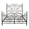 Home Loft Concepts Rory Metal Panel Bed