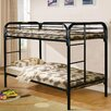 Hazelwood Home Twin Over Twin Bunk Bed