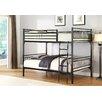 Hazelwood Home Full Over Full Bunk Bed