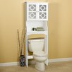 "Hazelwood Home 24.38"" x 67.73"" Over the Toilet Cabinet"