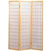 "Hazelwood Home 70"" x 53"" Sonji 3 Panel Room Divider"