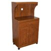 Hazelwood Home Jenny Microwave Cart