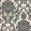 """Graham & Brown Elizabeth  33' x 20.5"""" Damask Flocked Wallpaper"""