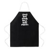 Attitude Aprons by L.A. Imprints Does Not Cook Well Apron