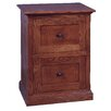 Forest Designs 2-Drawer File Cabinet