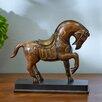 Three Posts Horse Figurine