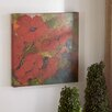Three Posts Red Poppies 2 Piece Wall Art Set
