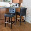 "Christopher Knight Home Exclusives 30"" Bar Stool with Cushion (Set of 2)"