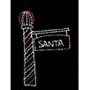Brite Ideas Santa's Light Pole LED Light