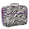 World Traveler Zebra Laptop Briefcase