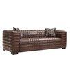 A'melas Collection Maxton Leather Sofa