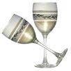 Golden Hill Studio Vine Wine Glass (Set of 2)