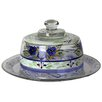 Golden Hill Studio Floral Cheese Cake Stand