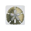 Golden Hill Studio Sand Dollar Coaster (Set of 8)