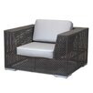 Hospitality Rattan Soho Patio Lounge Chair with Cushion