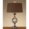 "John Richard Crystal 27"" H Table Lamp with Empire Shade"