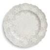 """Arte Italica Merletto 10.75"""" Dinner Plate"""