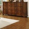 Homelegance Davina 9 Drawer Dresser with Mirror