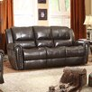 Homelegance Bosworth Leather Double Reclining Sofa