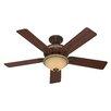"""Hunter Fans 52"""" Aventine® 5 Blade Ceiling Fan"""