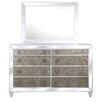 Magnussen Furniture Monroe 8 Drawer Dresser with Mirror