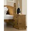 Home & Haus Corona 1 Drawer Bedside Table