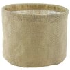 Syndicate Sales Round Burlap Basket