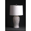 """D'Fine Lighting Mod 24"""" H Table Lamp with Drum Shade"""