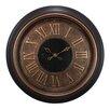 "nexxt Design Kiera Grace Oversized 23"" Wall Clock with Raised Roman Numeral"