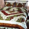 Elegant Decor Log Cabin Quilt Collection