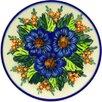 "Polmedia Polish Pottery 7"" Stoneware Plate"