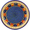 "Polmedia Polish Pottery 11"" Stoneware Plate"