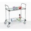 Nexel Solid 2 Shelf Cart