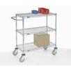 Nexel Adjustable Wire Shelf Cart