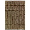 Rug Expressions Flat Weave Chocolate Area Rug